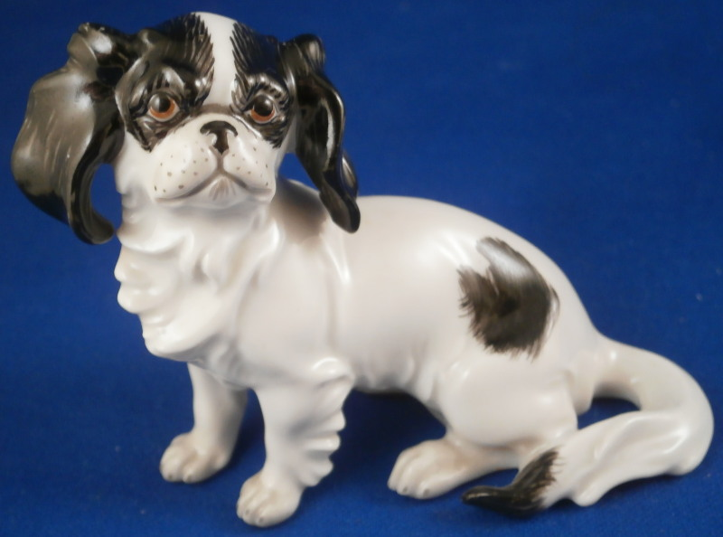 augarten japanese chin dog 1. Black Bedroom Furniture Sets. Home Design Ideas